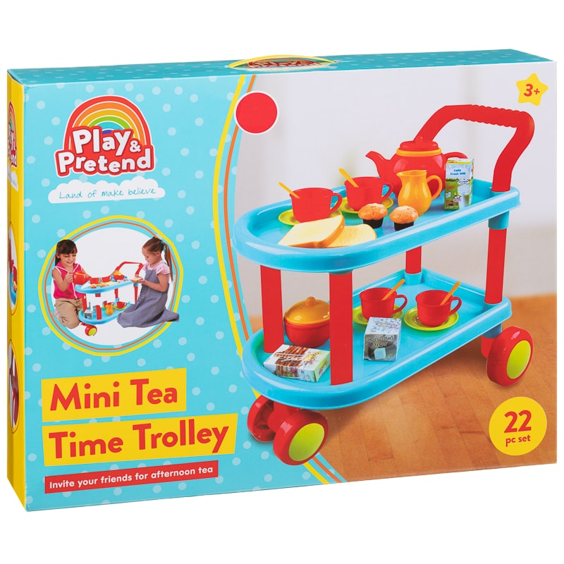Play & Pretend Mini Tea Time Trolley