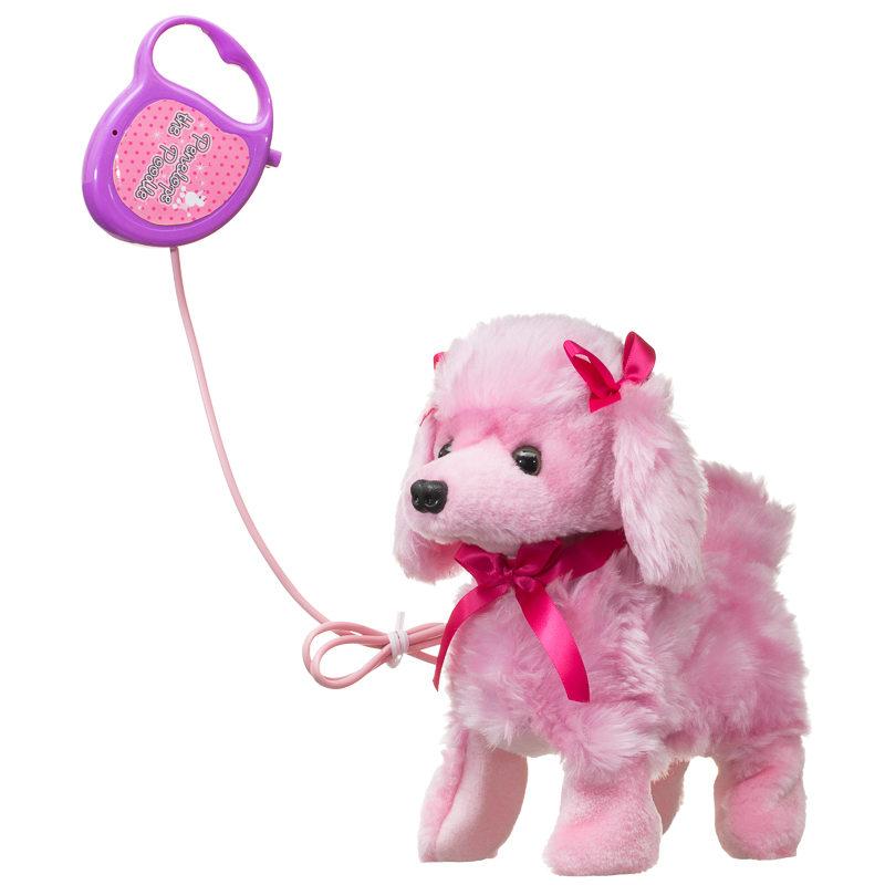 Pink Dog Toy : B m penelope the poodle walking dog pink