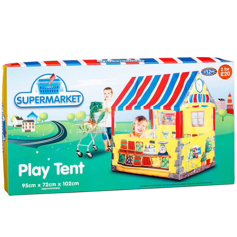 Play Tent Supermarket Outdoor Toys Amp Games B Amp M