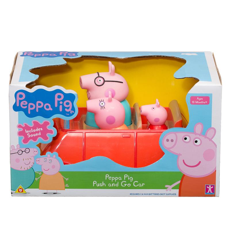 b m peppa pig push go car 294122 b m. Black Bedroom Furniture Sets. Home Design Ideas