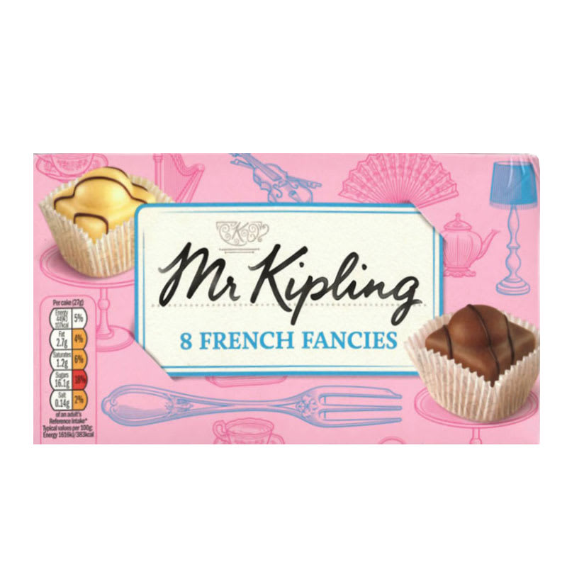 Mr Kipling French Fancies 8pk Cakes Groceries