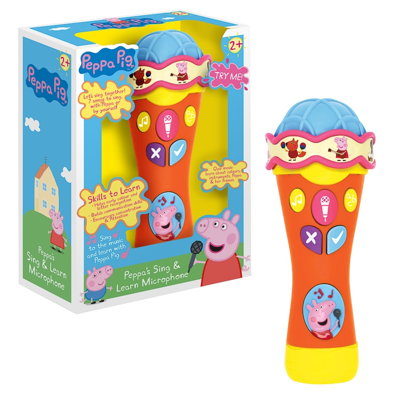 Peppa Pig Sing & Learn Microphone