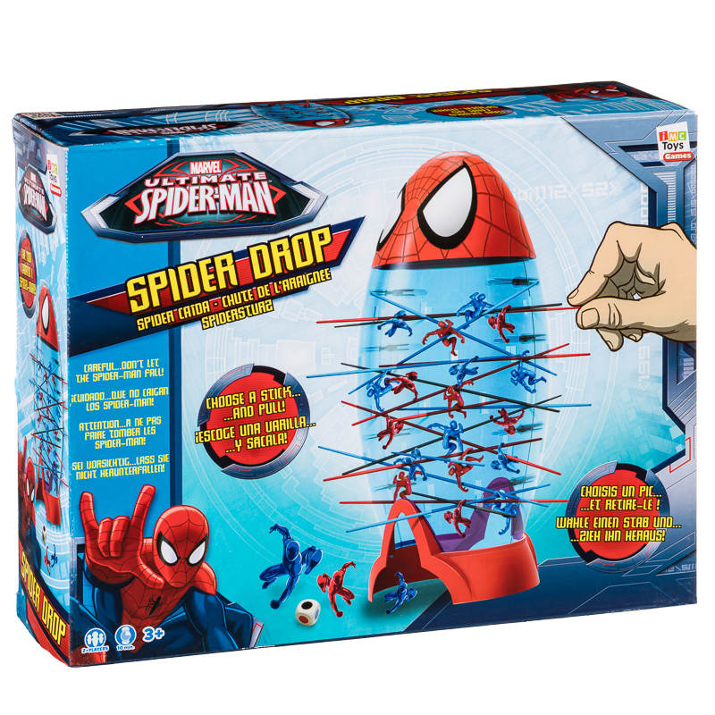 Spider Man Spider Drop Game Family Board Games