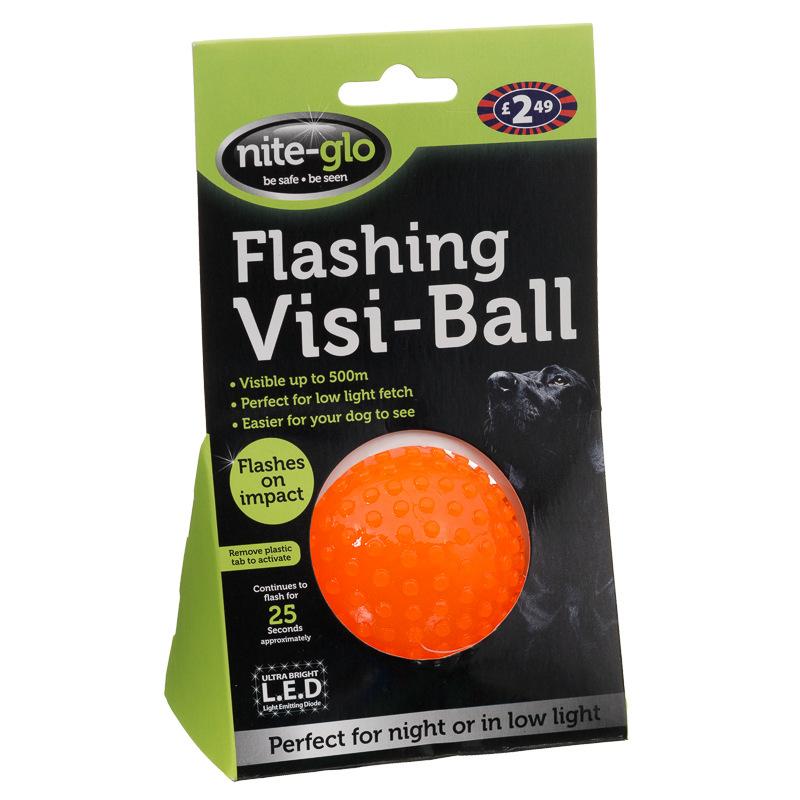 Flashing Dog Ball Pets At Home
