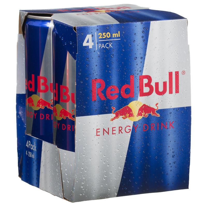 Tauringehalt Red Bull