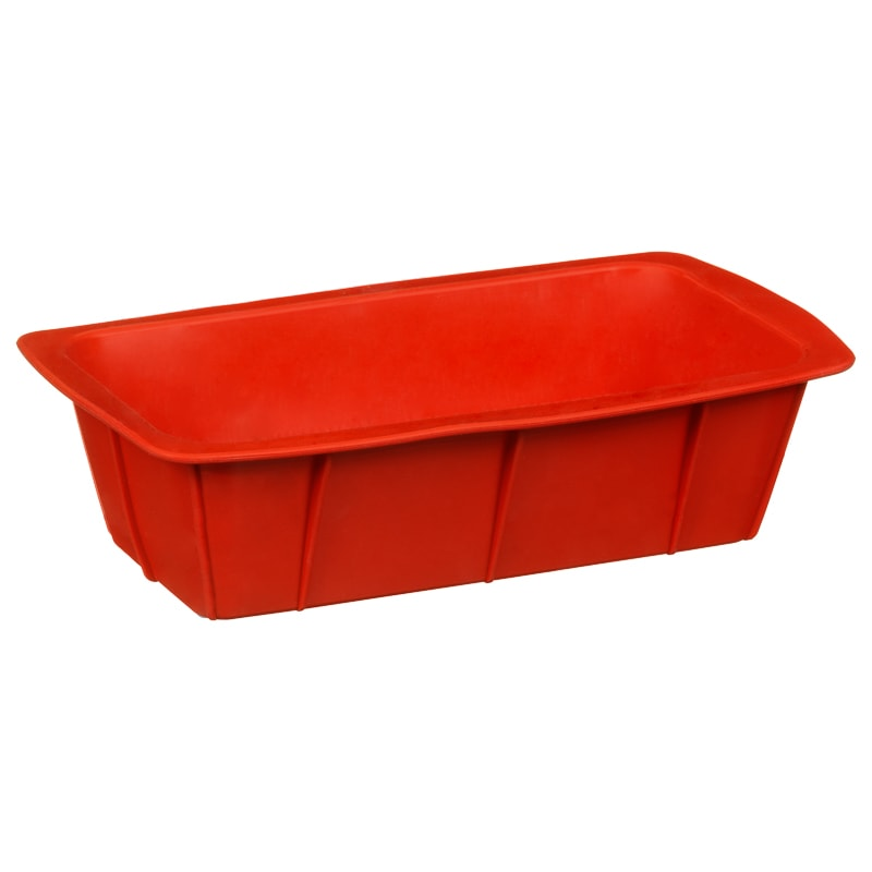 Silicone Loaf Pan - Red