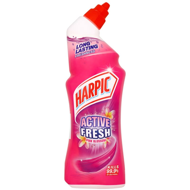 Harpic Active Fresh Toilet Cleaner 750ml Pink Blossom