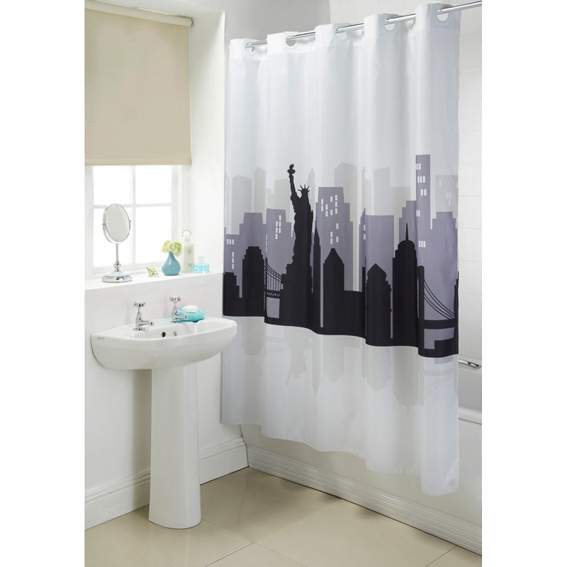 Gold Shower Curtain Rod Hookless Vision Shower Curtain