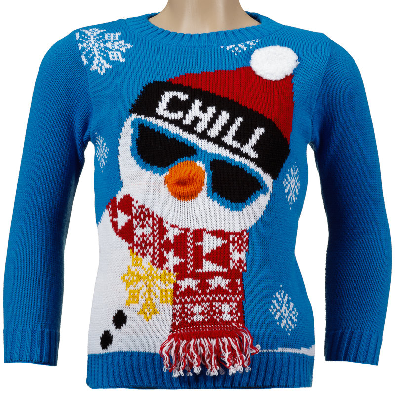 boys christmas jumper chill christmas kids clothing. Black Bedroom Furniture Sets. Home Design Ideas