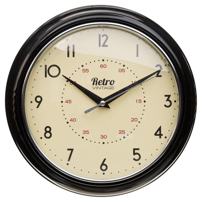 Retro Home Furnishings : 295293 Retro Clock black1 from www.tehroony.com size 800 x 800 jpeg 183kB