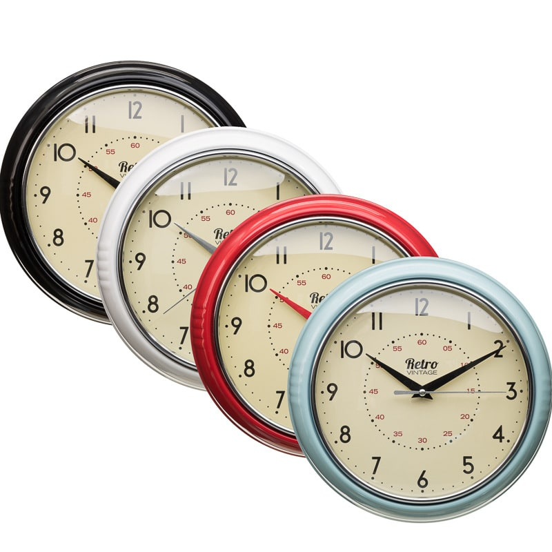 Vintage Kitchen Wall Clocks Uk