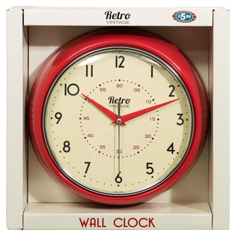 Retro Clock Home Accessories Clocks