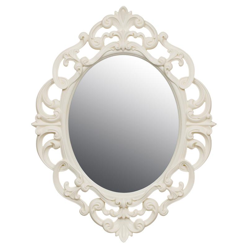 ... Home & Furniture Home Accessories Mirrors Small Ornate Oval Mirror