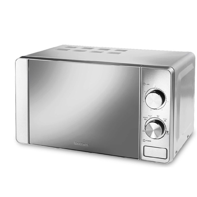 Goodmans Stainless Steel Microwave