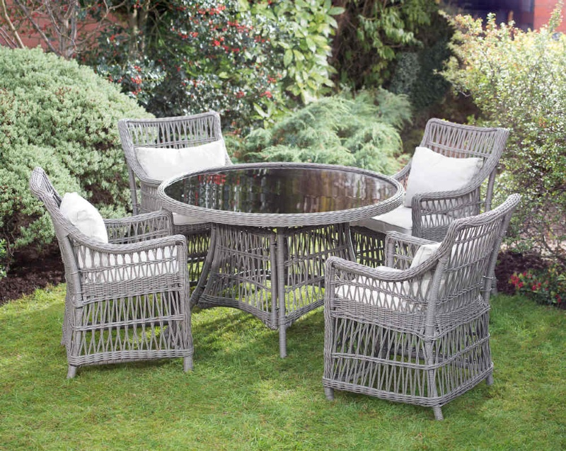 Hertfordshire Luxury Rattan Dining Set  Garden Furniture