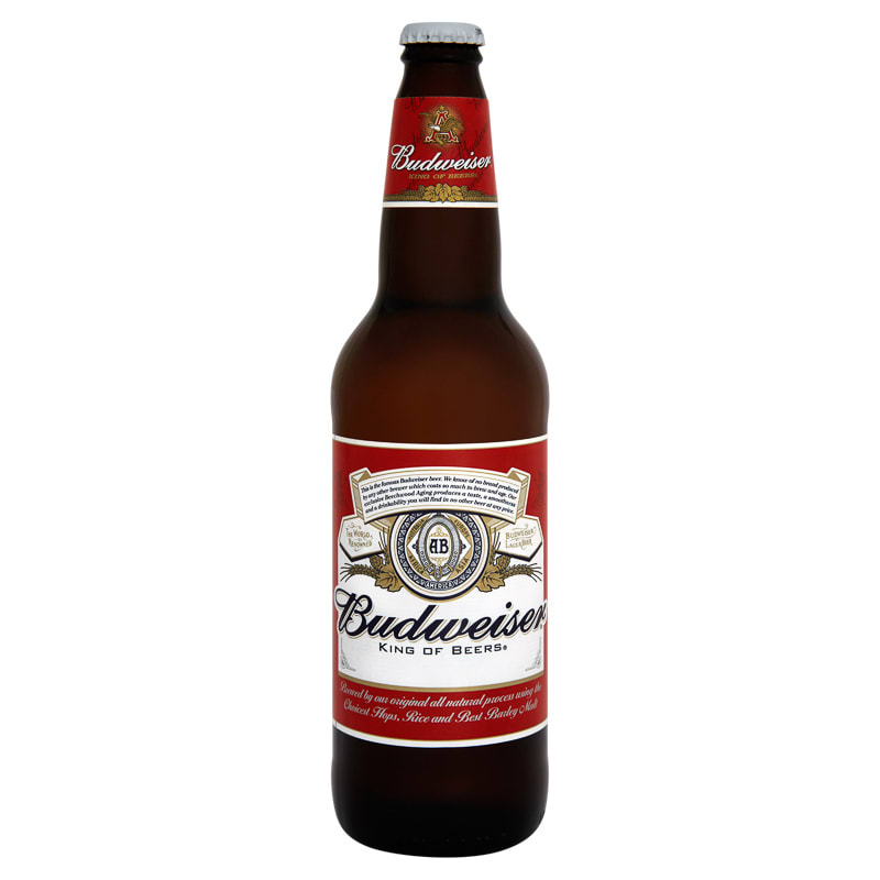 Home Food amp Drink Drinks Alcohol Beer Budweiser Lager 660ml
