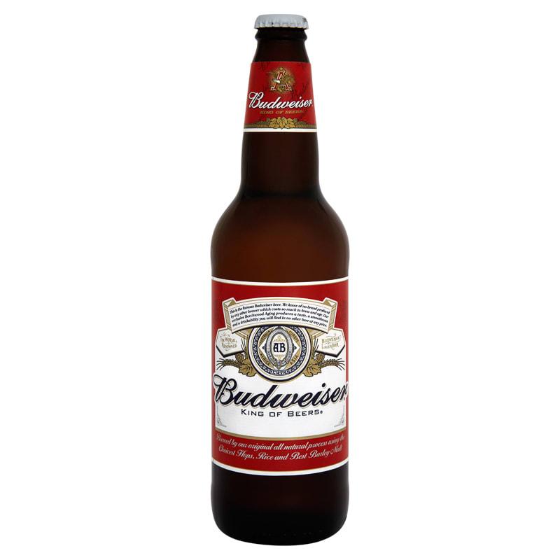 Budweiser Lager 660ml | Alcohol | Beer & Lager