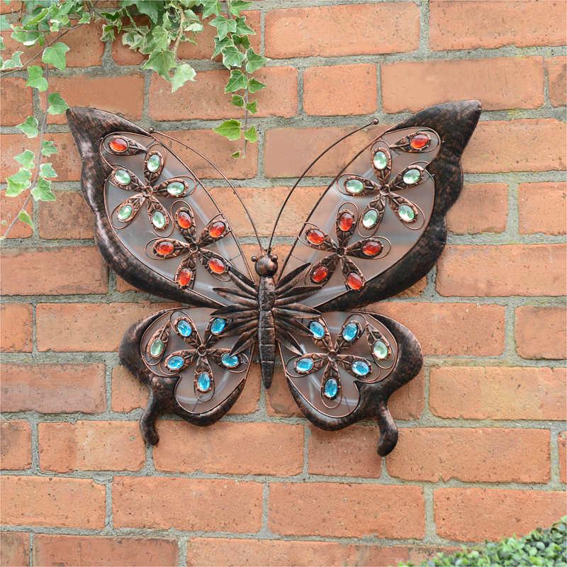 B Amp M Solar Butterfly Wall Art 307000 B Amp M