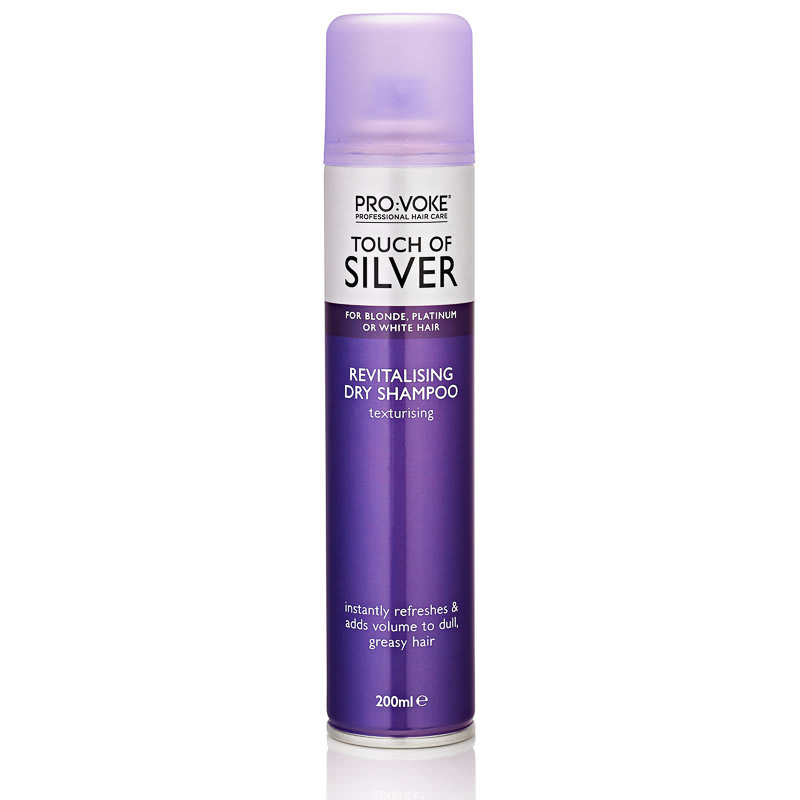 Pro Voke Touch Of Silver Dry Shampoo 200ml Hair Care B Amp M