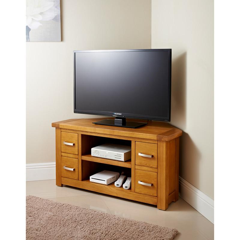 BampM Westbury Oak TV Unit