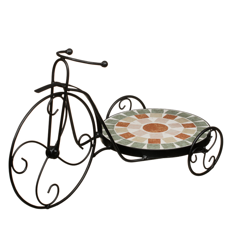 B m mosaic bicycle plant pot stand 297763 - Bicycle planter stand ...
