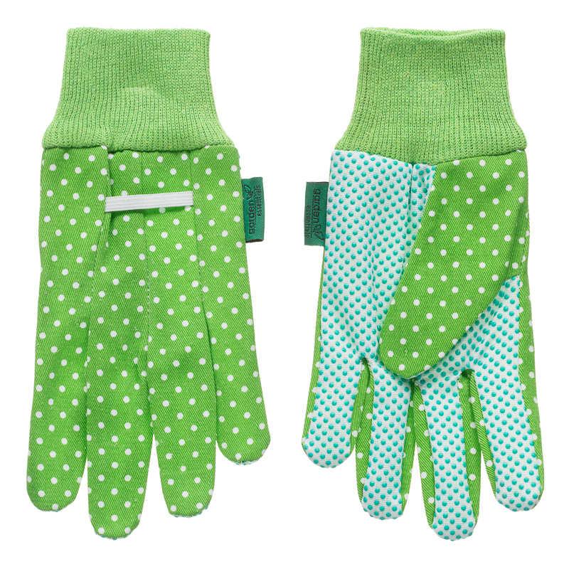BM Womens Gardening Gloves 2pk Green 2978352