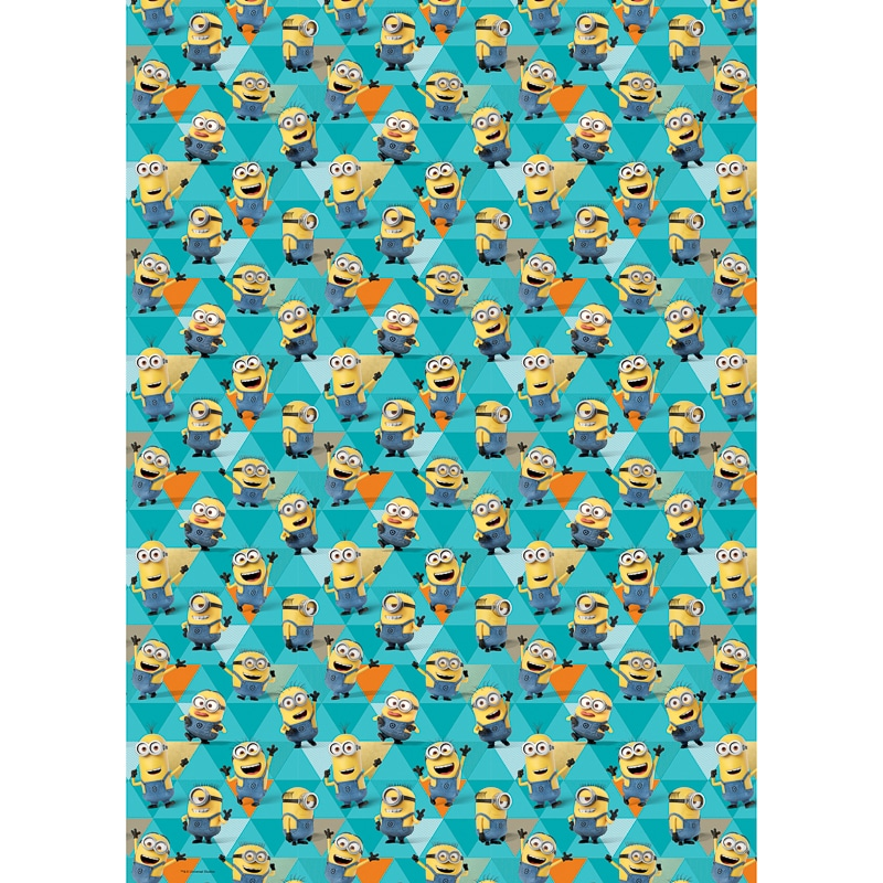 Despicable Me Minions Wrapping Paper 4m Gift Wrap B Amp M