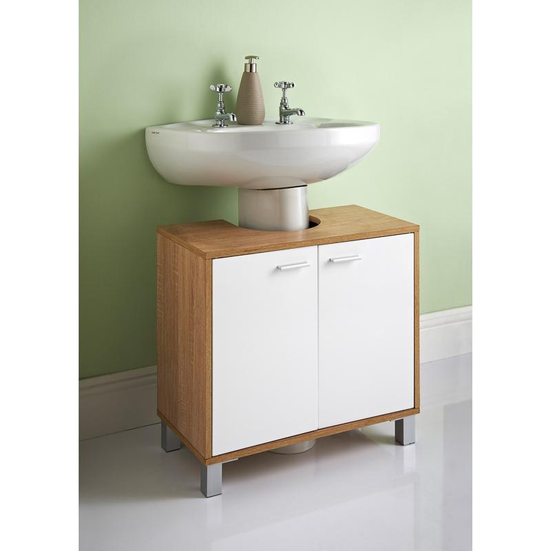 Image Of Bathroom Under Basin Unit BM Maine Under Sink Unit MAINE ...
