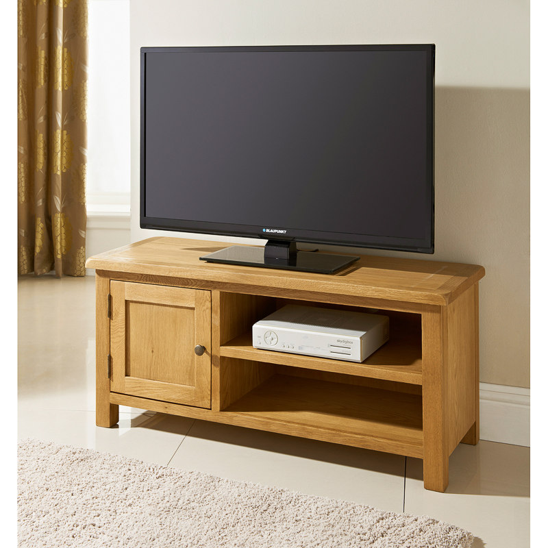 B&M Wiltshire Wide TV Table - 319209 | B&M