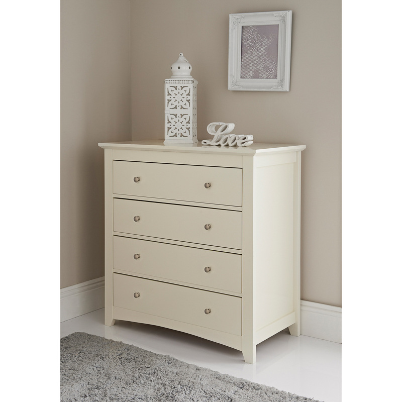 Carmen 4 drawer chest unit storage bedroom furniture for M s bedroom furniture uk