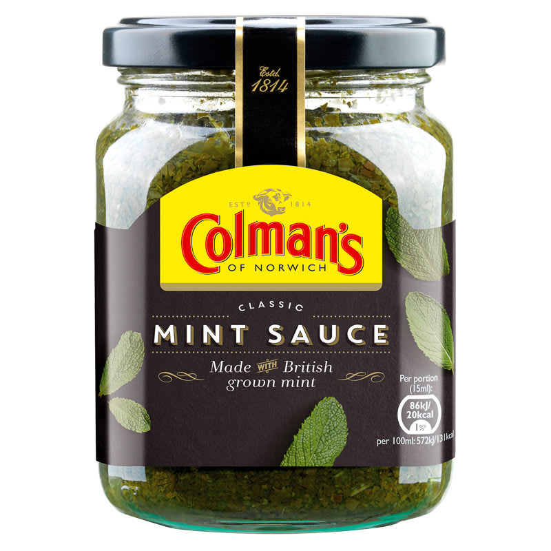 colman 39 s mint sauce 165g 298400. Black Bedroom Furniture Sets. Home Design Ideas