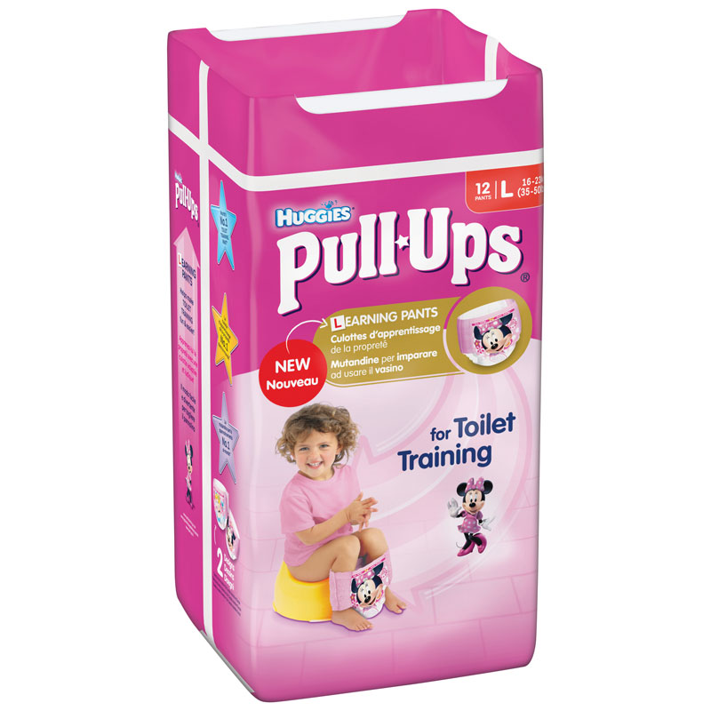Huggies Pull Ups Large 12 Pack Girls Nappies B Amp M