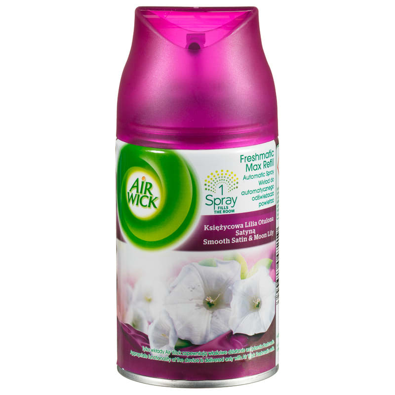 Air Wick is a leading manufacturer and marketer of floral sprays, aerosols, dispensers and other home fragrance products. It sells its range of odour elimination devices in supermarkets and stores across the UK. The battery-powered Freshmatic Max device and the smaller Freshmatic Compact release.