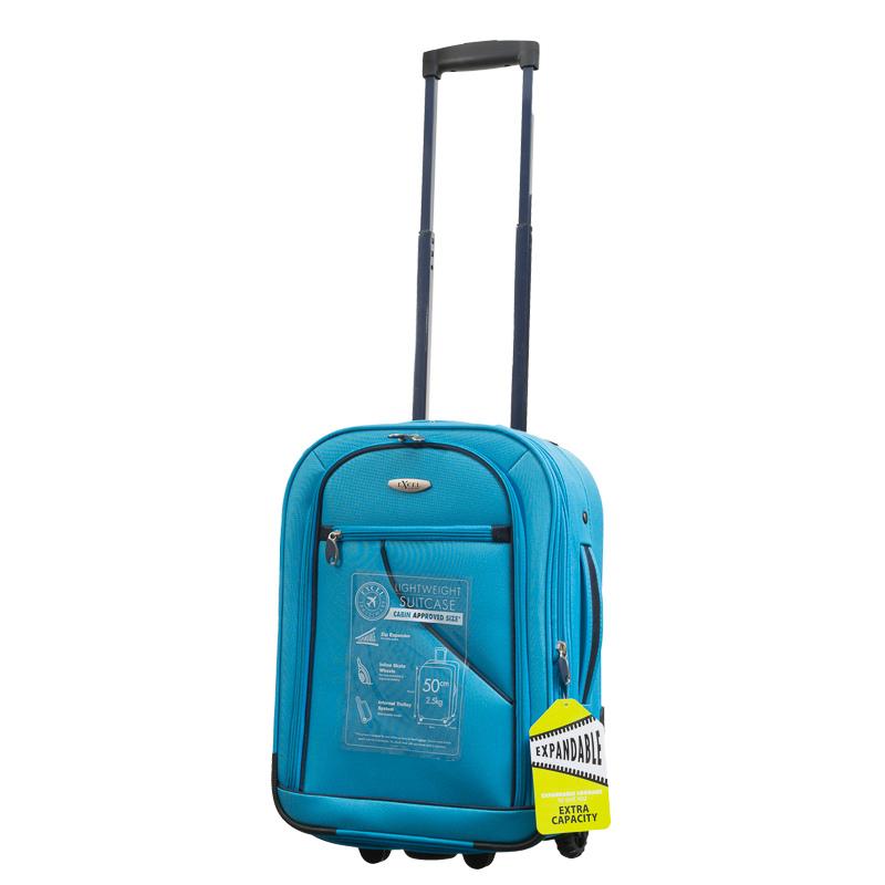 b m vivid aqua suitcase 50cm 298845. Black Bedroom Furniture Sets. Home Design Ideas