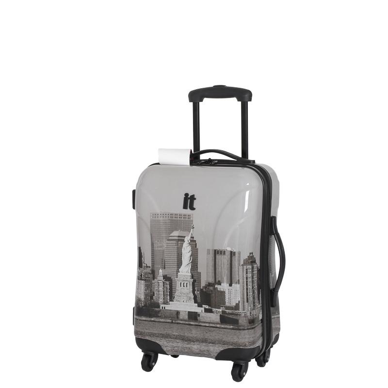 b m manhattan hard shell suitcase 55cm 298898. Black Bedroom Furniture Sets. Home Design Ideas