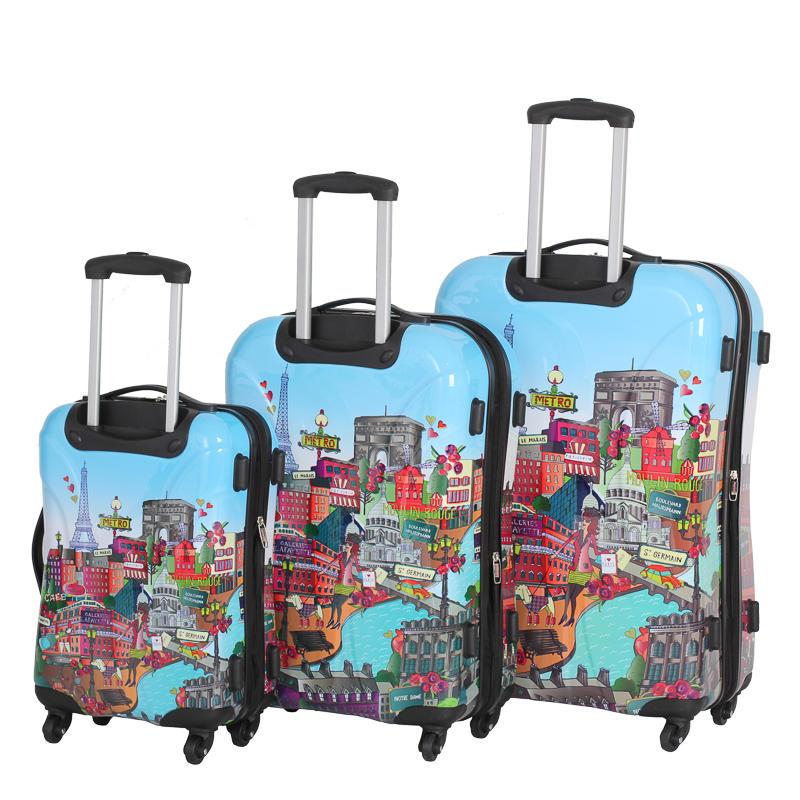 B Amp M Gt Paris Hard Shell Suitcase 55cm 298902