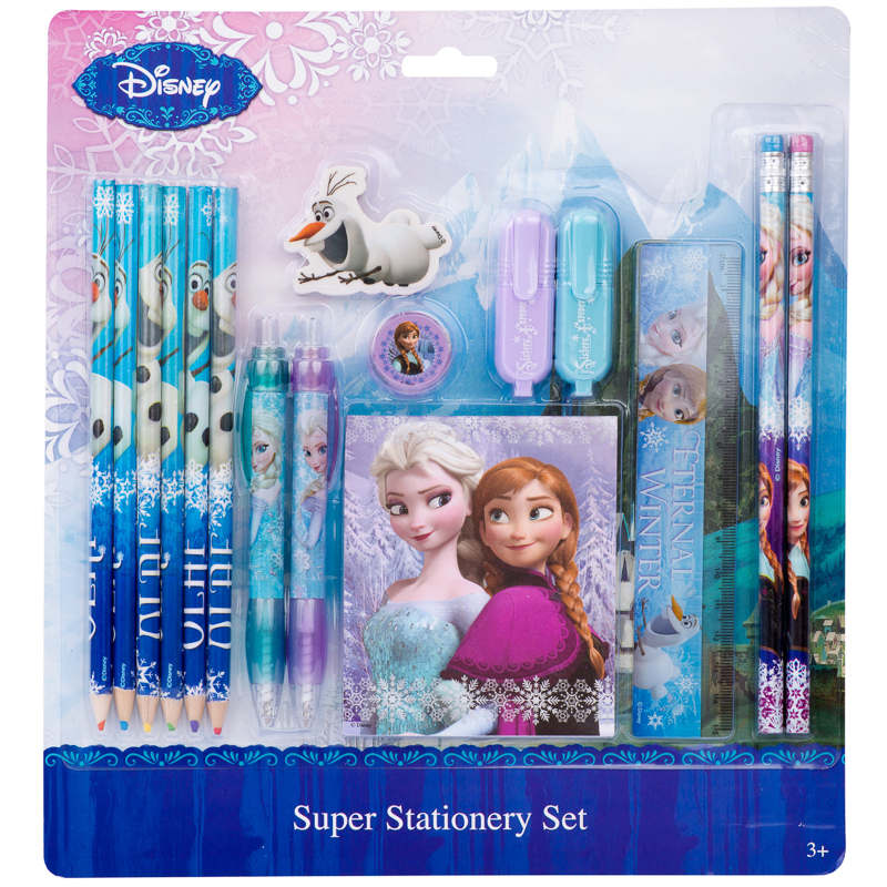 Bu0026M: u0026gt; Frozen Super Stationery Set - 298950