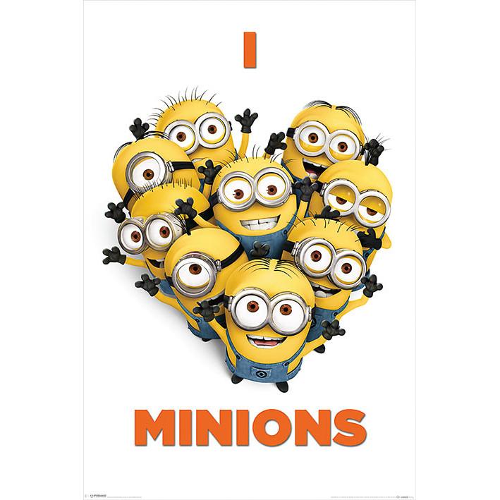 B Amp M Gt Minions Poster I Love Minions 2991543