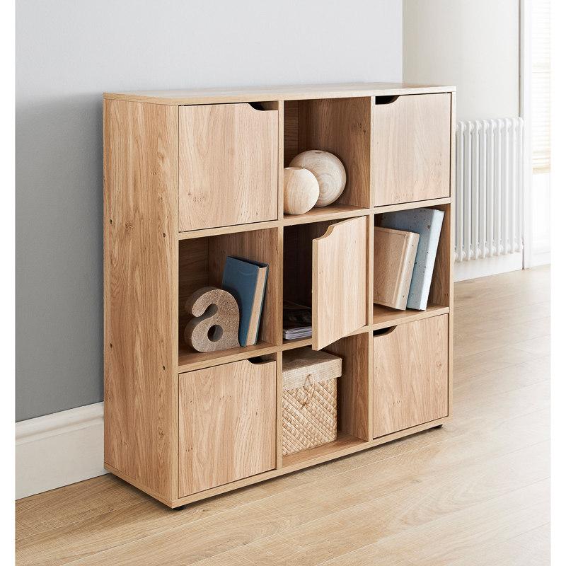 turin 9 cube shelving unit storage shelves b m. Black Bedroom Furniture Sets. Home Design Ideas