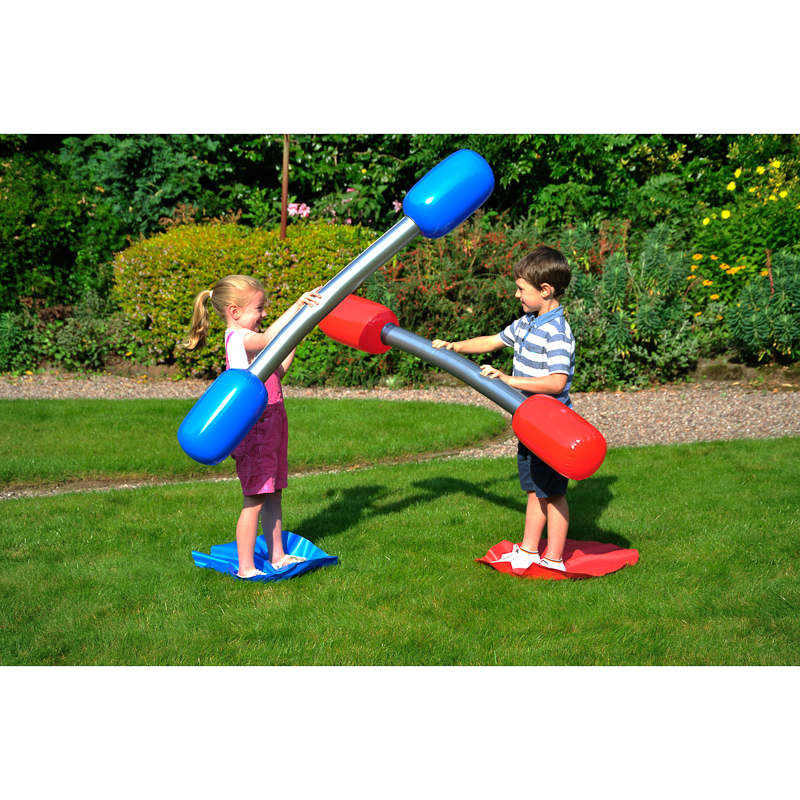 Outdoor Gladiator Game Inflatable Outdoor Toys Games