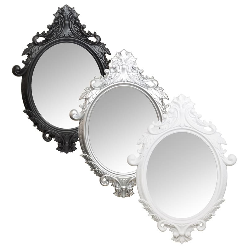 Well-known Ornate Oval Mirror | Home Decor, Homewares, Gifts DY61