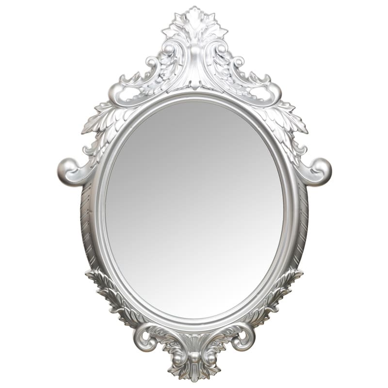 Ornate oval mirror home decor homewares gifts for Ornate mirror