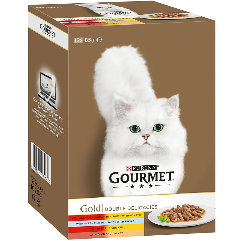 Purina Gourmet Gold Double Delicacies 12pk