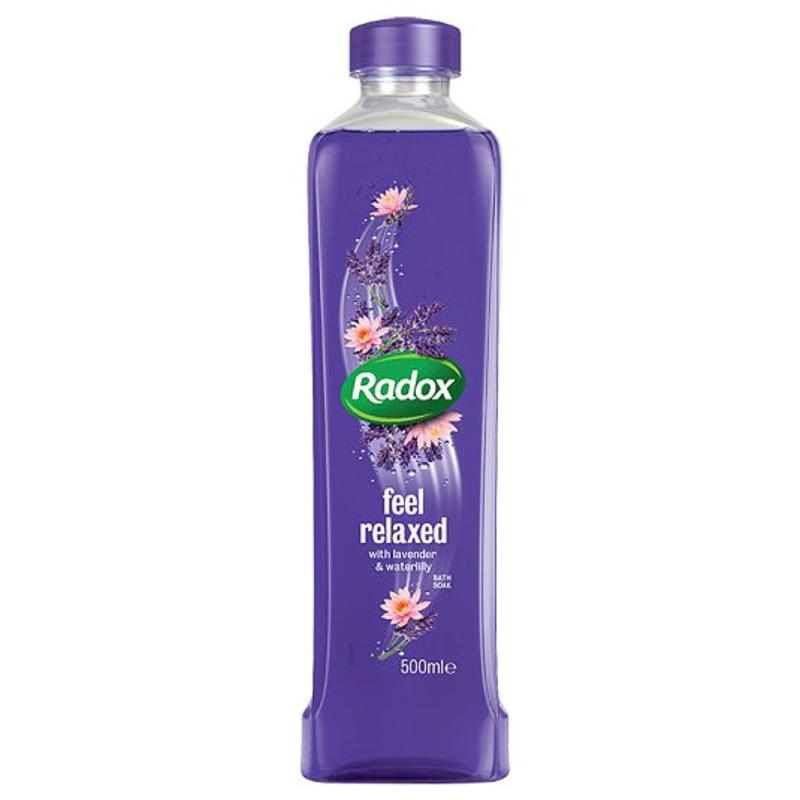 Radox Bath Soak Lavender Amp Waterlily 500ml Bath Amp Body