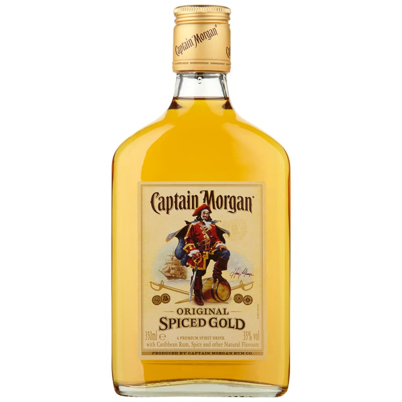 Captain morgan spiced gold rum 35cl spirits alcohol b m for Mix spiced rum with