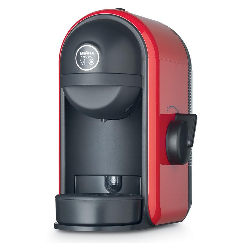 b m lavazza coffee machine red 3000971. Black Bedroom Furniture Sets. Home Design Ideas
