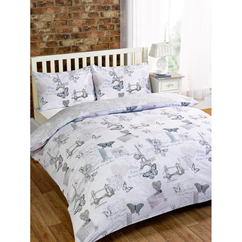 City Map Double Duvet Set Bedding Duvet Covers