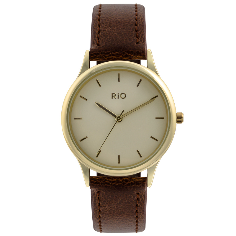 mens brown leather cheap mens watches