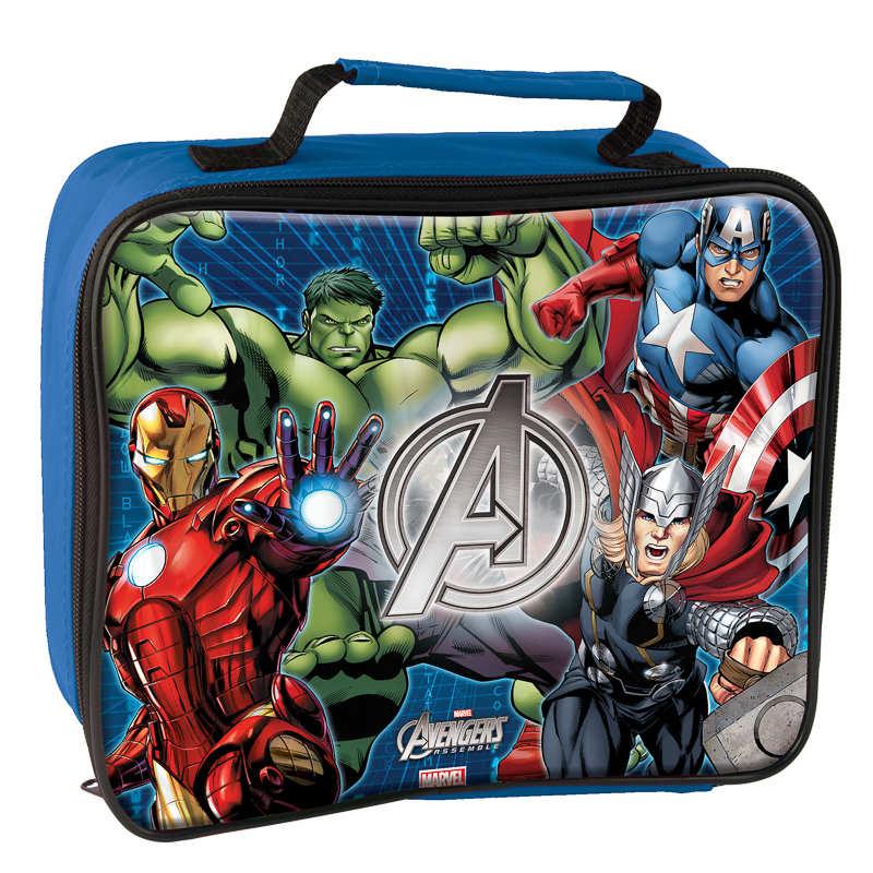 BampM Marvel Avengers Boys Lunch Bag 3006692