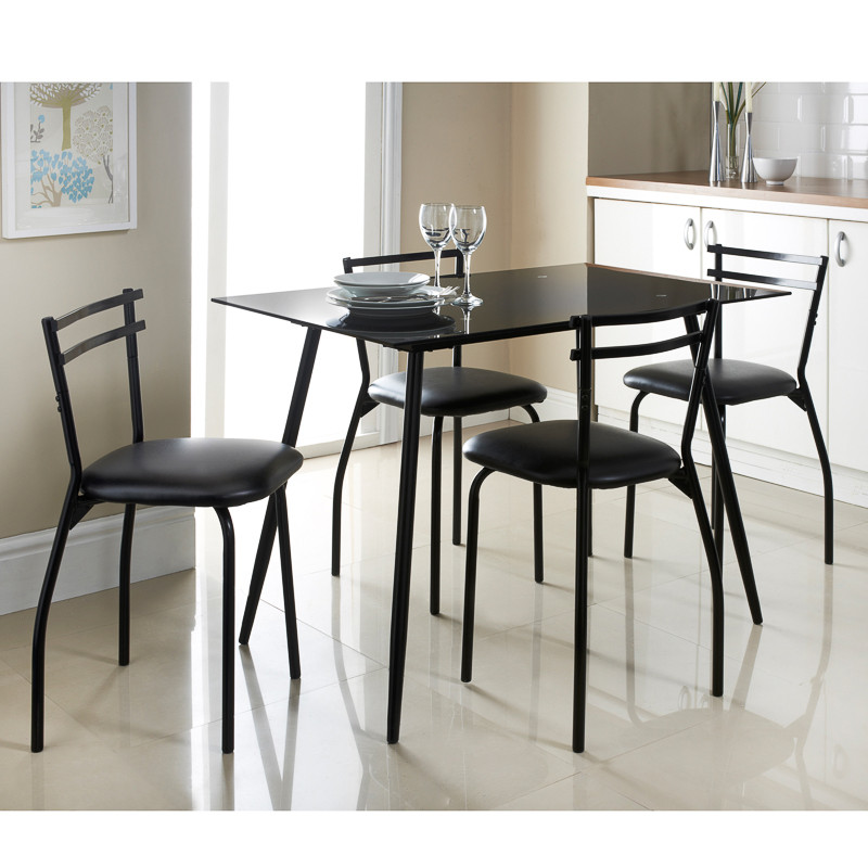 5pc dining room set home 5pc dining dinette table chairs for M s dining room tables